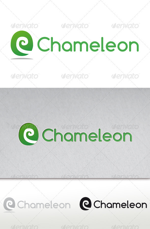 GraphicRiver Chameleon Studio Logo 2670413