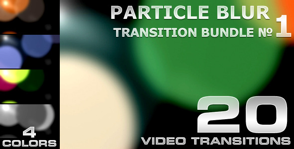 Particle Blur Transition 1