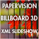 Billboard 3D - XML Slideshow - ActiveDen Item for Sale