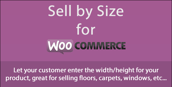 Sell Products by Size for WooCommerce - WorldWideScripts.net Item for Sale