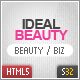 IdealBeauty HTML5 Template - ThemeForest Item for Sale