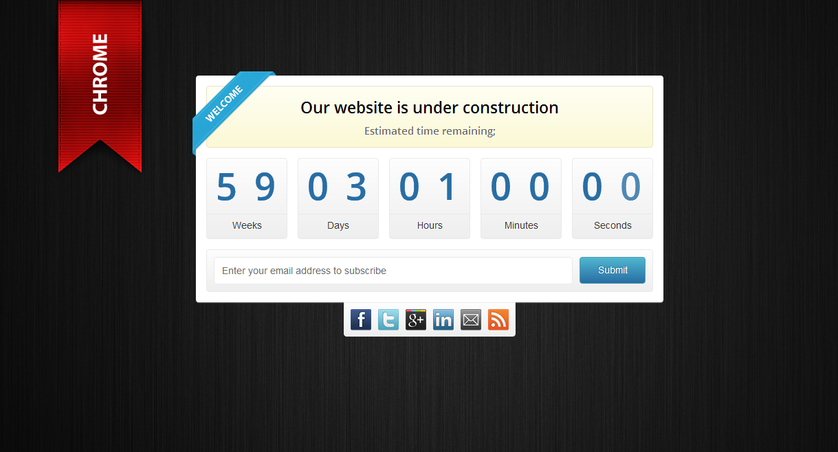 Onyx - Under Construction Template