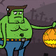 Frankenstein & Pumpkin - GraphicRiver Item for Sale