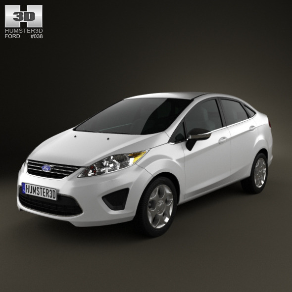 Ford Fiesta Sedan 2012 - 3DOcean Item for Sale