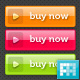 Colourful Glossy Web Buttons - GraphicRiver Item for Sale