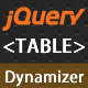 jQuery Table Dynamizer