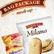 Bag Pack Package Foil Mock - Up - GraphicRiver Item for Sale