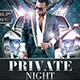 Bithday Private Night - GraphicRiver Item for Sale