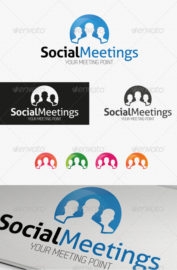 Social Meetings Logo