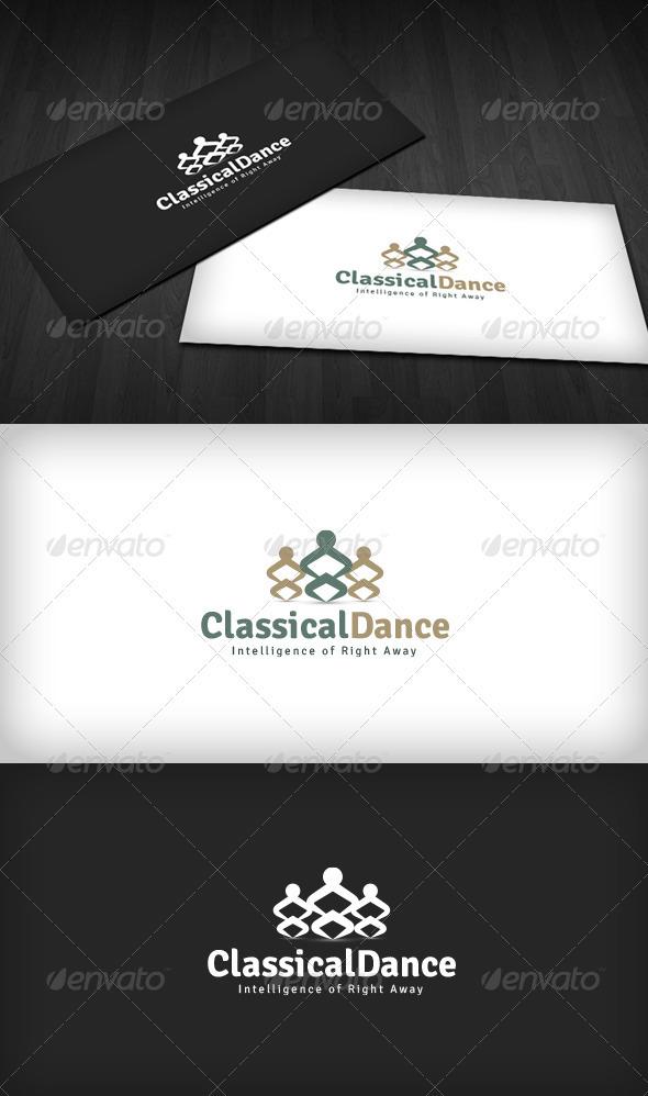 GraphicRiver Classical Dance Logo 2669408