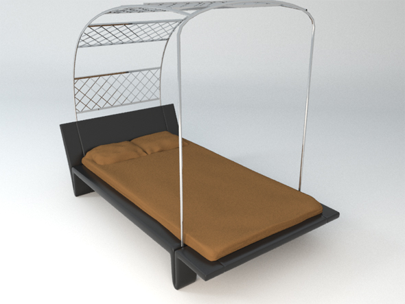 3DOcean Designer bed 95386