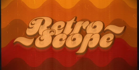 After Effects Project - VideoHive RetroScope 2670357