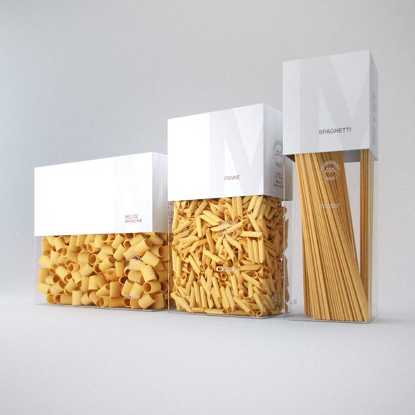 Photorelistic Pasta boxes - 3DOcean Item for Sale