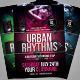 Urban Rhythms Party Flyer - GraphicRiver Item for Sale