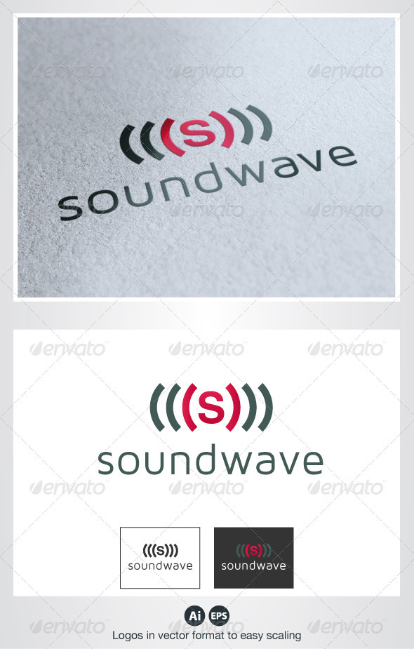 GraphicRiver Sound Wave S Logo 2678702