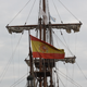 Spanish Flag On The Ship 02 - VideoHive Item for Sale