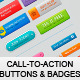 Call-To-Action Buttons and Badges - GraphicRiver Item for Sale