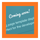 ComingSoon - ThemeForest Item for Sale