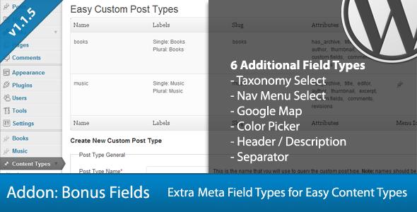 CodeCanyon ECPT Bonus Meta Field Types Add-On 712383