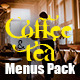 Coffee And Tea Menus Pack - GraphicRiver Item for Sale