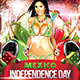 Mexico Independence Day flyer