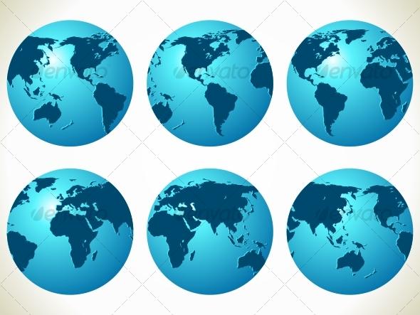 World maps - Travel Conceptual