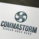 Commastorm Logo - GraphicRiver Item for Sale