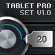 Tablet/Phone User Interface PROFESSIONAL SET - GraphicRiver Item for Sale
