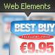 Web Elements - Banners Vector Graphix editable PSD - GraphicRiver Item for Sale