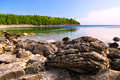Rocks At Shore Of Georgian Bay - PhotoDune Item for Sale