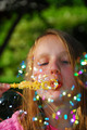 Young Girl Soap Bubbles - PhotoDune Item for Sale