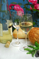 White Wine With Glasses - PhotoDune Item for Sale