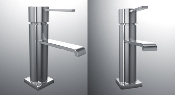 3DOcean Water mixer by GROHE 95389