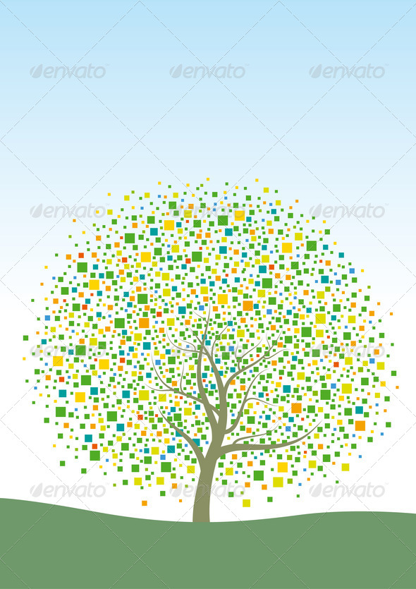 Abstract tree - Stock Photo - Images