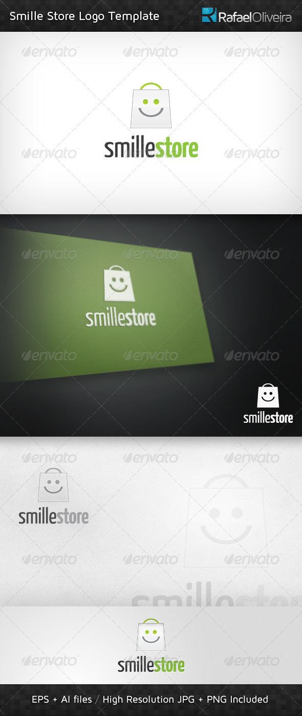 Smille Store Logo Template - Symbols Logo Templates