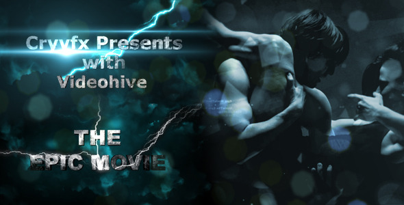 After Effects Project - VideoHive The EPIC Movie 2686675