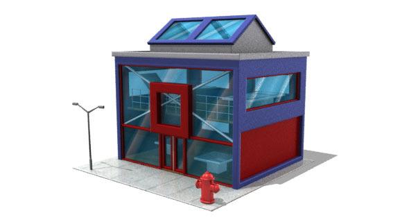 3DOcean Desing Building 2686757