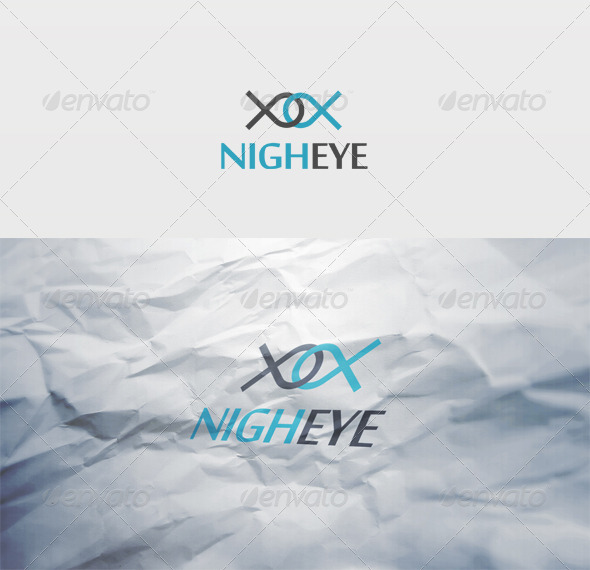 Nigh Eye Logo - Vector Abstract