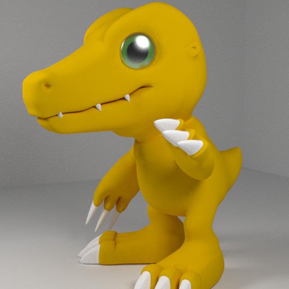 3DOcean Agumon 3D Models 2679830