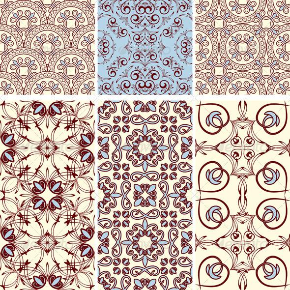 6 Seamless Patterns