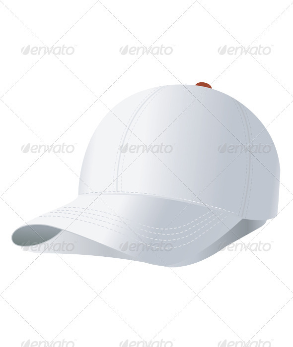 Vector illustration of baseball cap - Sports/Activity Conceptual