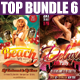Top Party Flyer Bundle Vol6 - GraphicRiver Item for Sale
