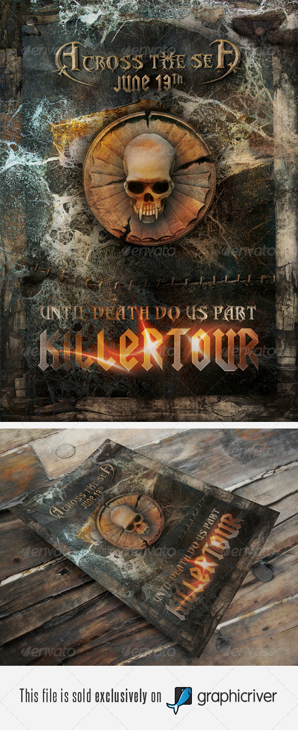 GraphicRiver Heavy Metal Vol.1 405401
