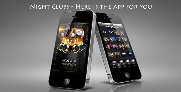 Night Club Mobile App - WorldWideScripts.net Item for Sale