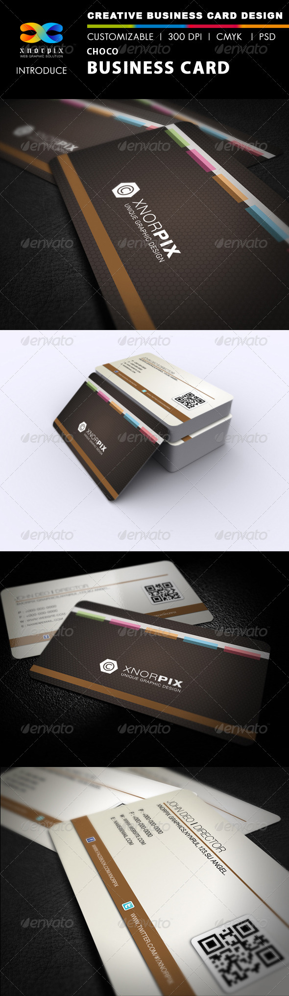 Choco Business Card - Corporate Business Cards
