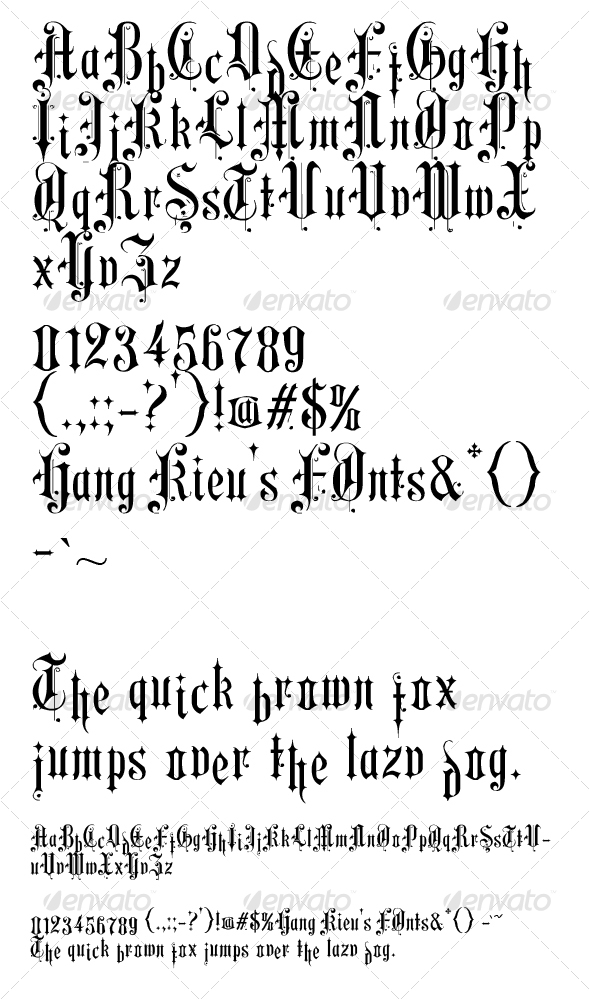 Hang Kieu - aero  - Serif Fonts