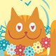 Seamless Pattern - Summer Cats - GraphicRiver Item for Sale