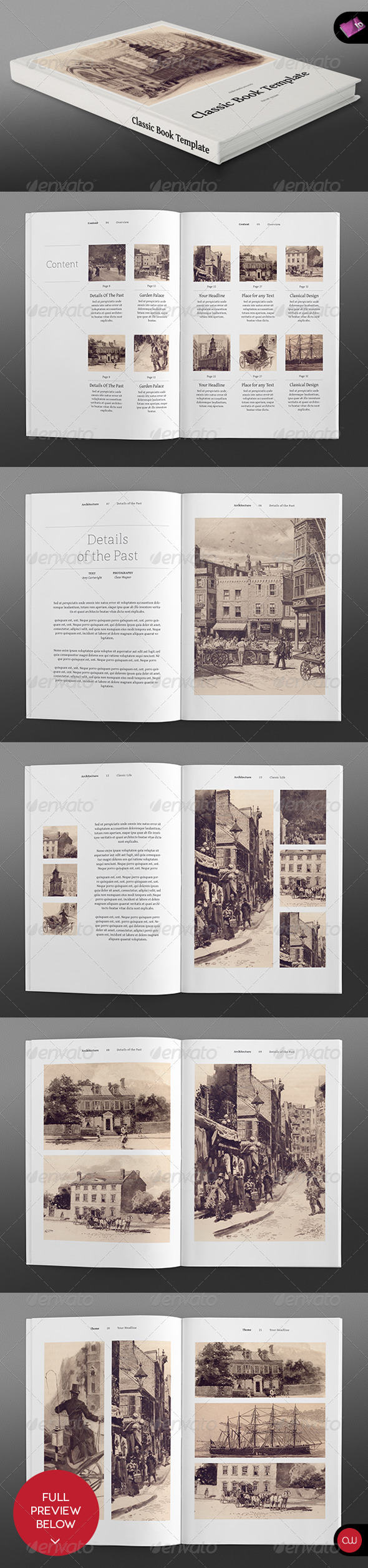 GraphicRiver Book & Brochure Classic Series Vol.2 2689881