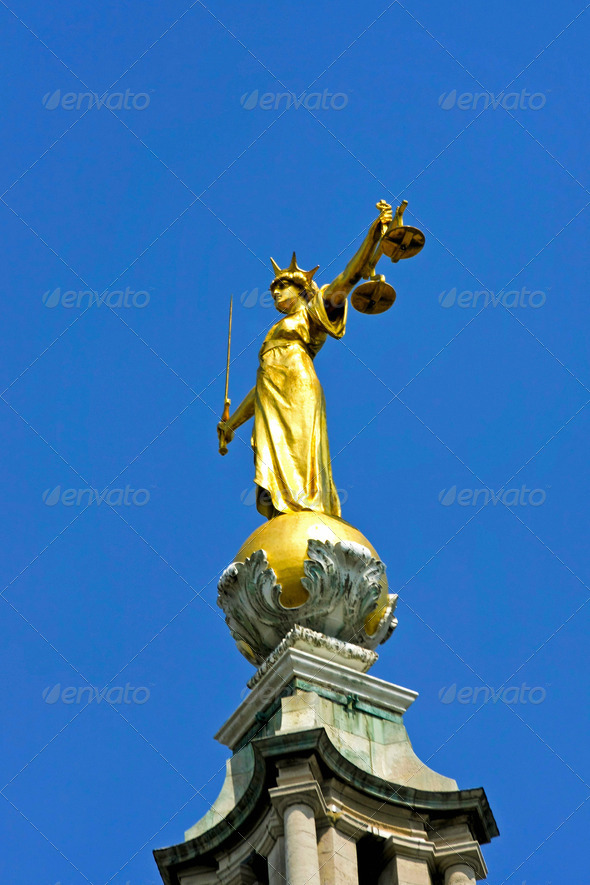 Lady justice - Stock Photo - Images
