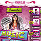 A4 Summer Music Party Flyer - GraphicRiver Item for Sale